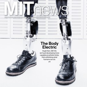 November/December MIT News cover
