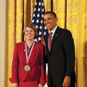 President Obama with Chisholm
