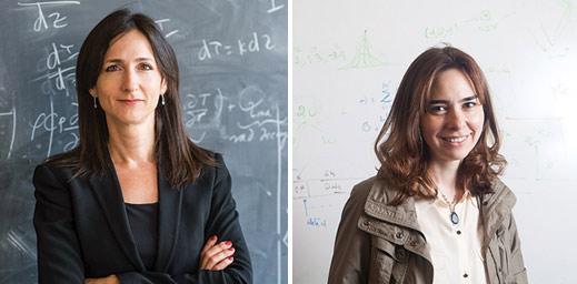 Sara Seager and Dina Katabi