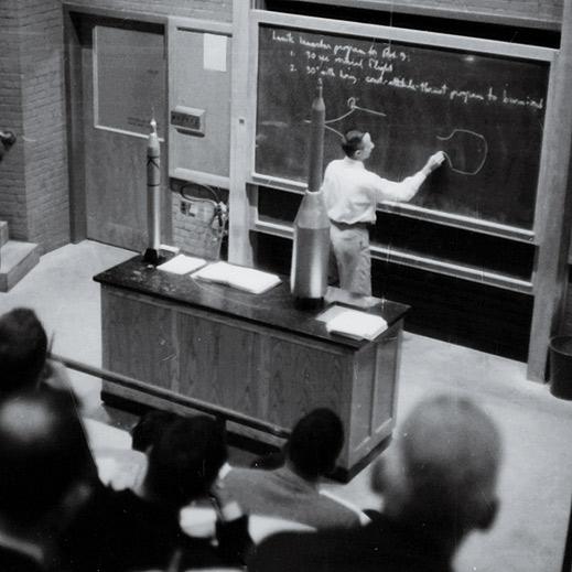 Paul Sandorff teaching