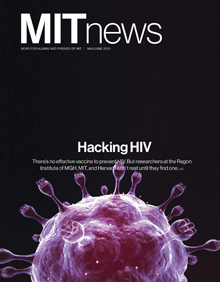 MIT News May/June cover