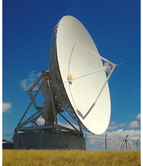 how to convert a satellite dish into a radio telescope mit
