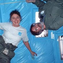 Jennifer Wiseman and Mark Shelhamer