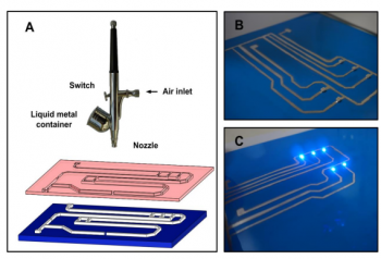 Liquid Metal Printer Lays Electronic Circuits on Paper
