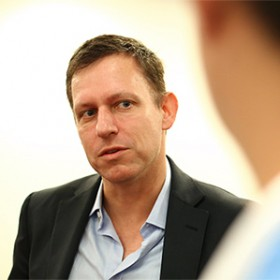 Peter Thiel Explains Biotech Investing Rationale: Get Rid of Randomness