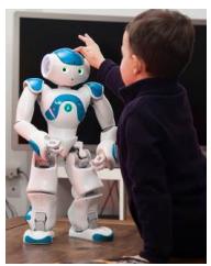 Social robots - Magazine cover
