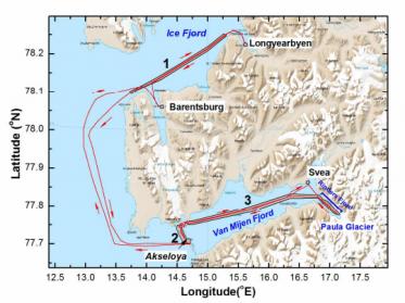 Laser System Tracks Iceberg Evolution and Ocean Temperature