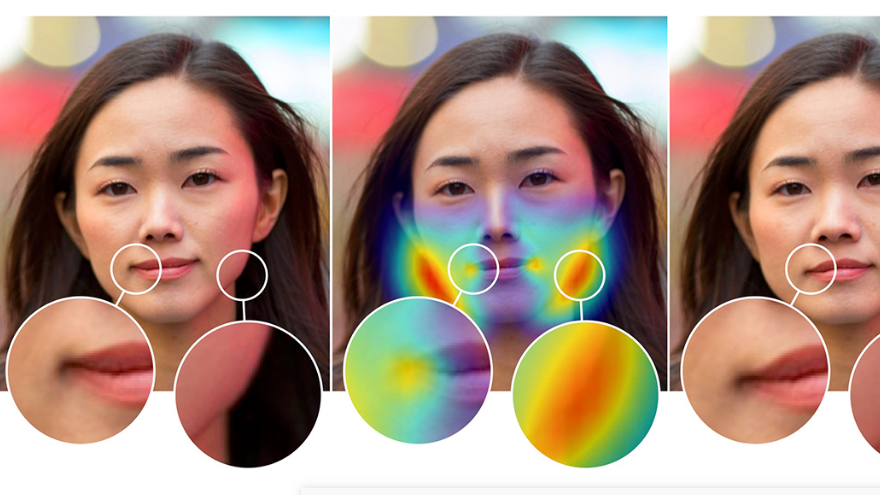 Adobe's new AI tool can spot when a face has been Photoshopped