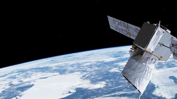 The European Space Agency's Aeolus satellite