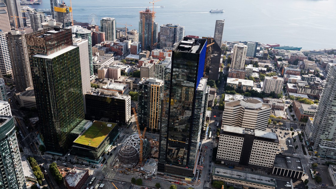 Amazon's Seattle HQ