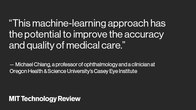 be08bea3d4b An AI Ophthalmologist Shows How Machine Learning May Transform Medicine -  MIT Technology Review