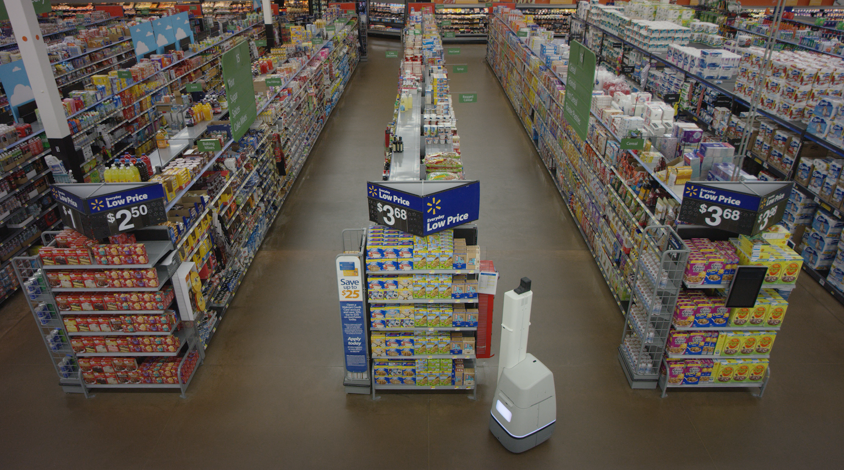 Aisles-and-robot