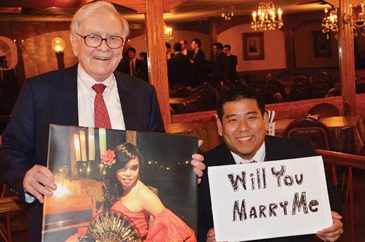 Warren Buffett and Will Smittinet