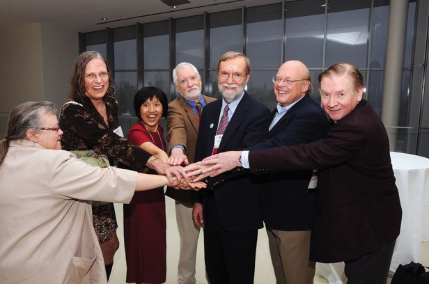 Class of 1973 leaders join hands