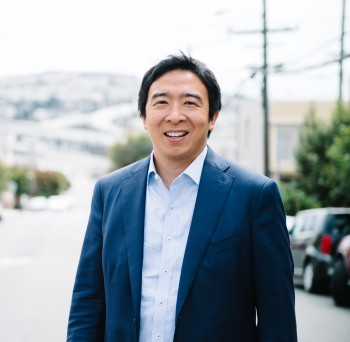 Photograph of Andrew Yang