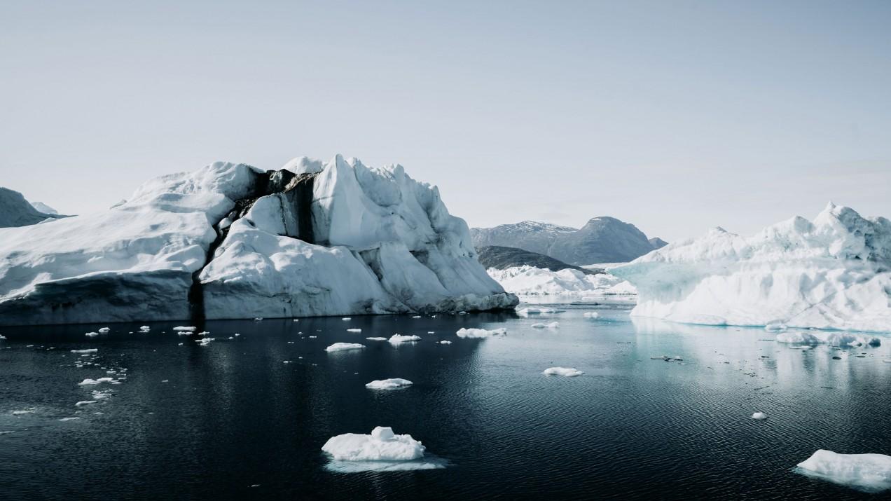 Glaciers.