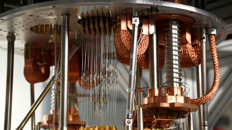 Quantum computer up close