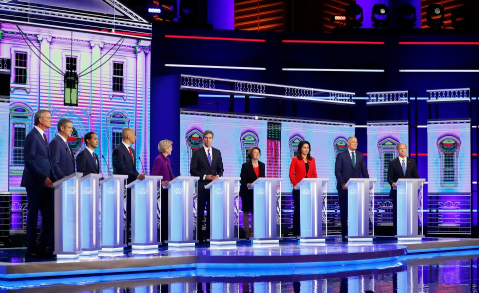 A photo taken at the 2020 Democratic Presidential Debate