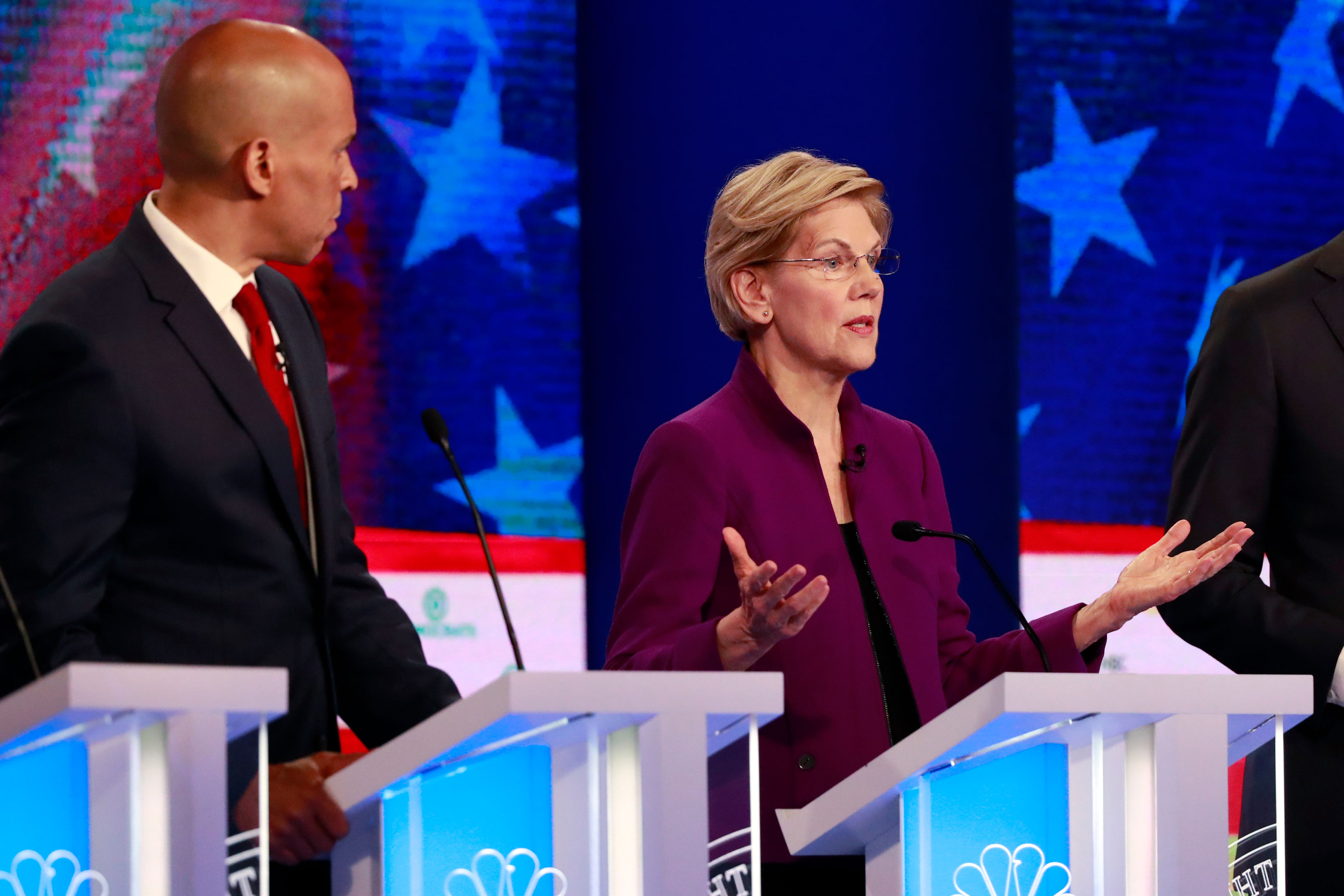 Candidates Participate In First Debate Of 2020 Election
