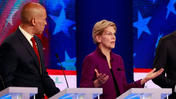 Photo of Democratic Presidential Candidates Participate In First Debate Of 2020 Election