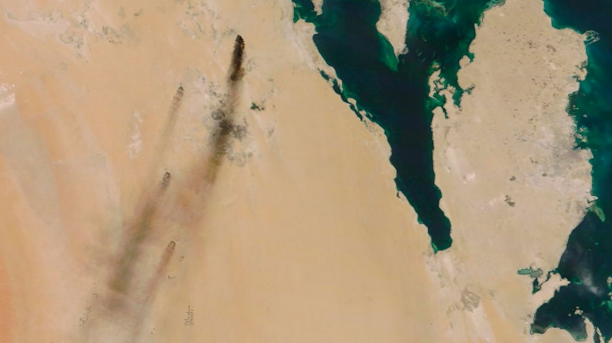 A coordinated drone attack has knocked out half of Saudi Arabia's oil supply