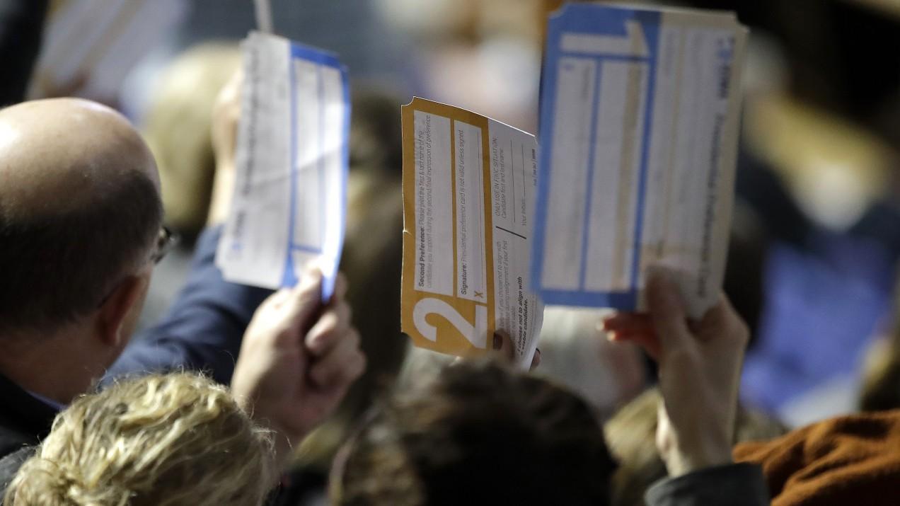 Iowa caucus paper
