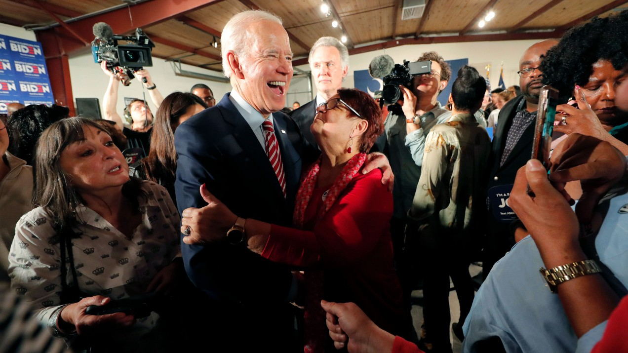Former Vice President Joe Biden staged a surprise surge in the Super Tuesday primaries.