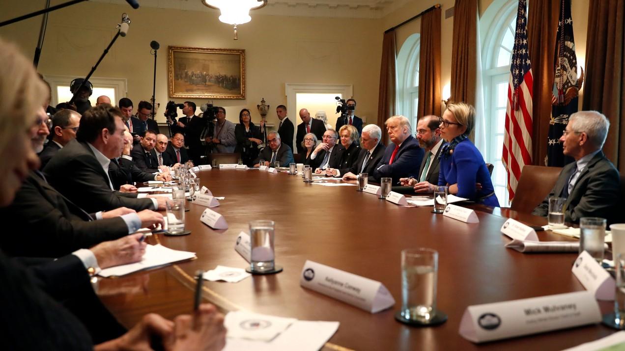 Trump's coronavirus taskforce