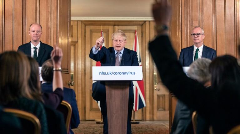 Boris Johnson coronavirus cove-19