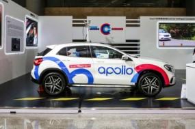 an experimental apollo self-driving car