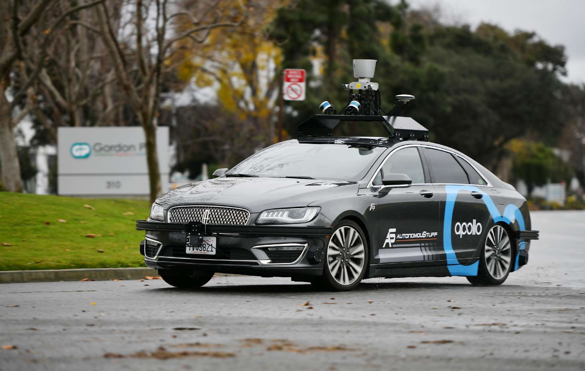 Baidu completes road test of driverless auto  in Silicon Valley