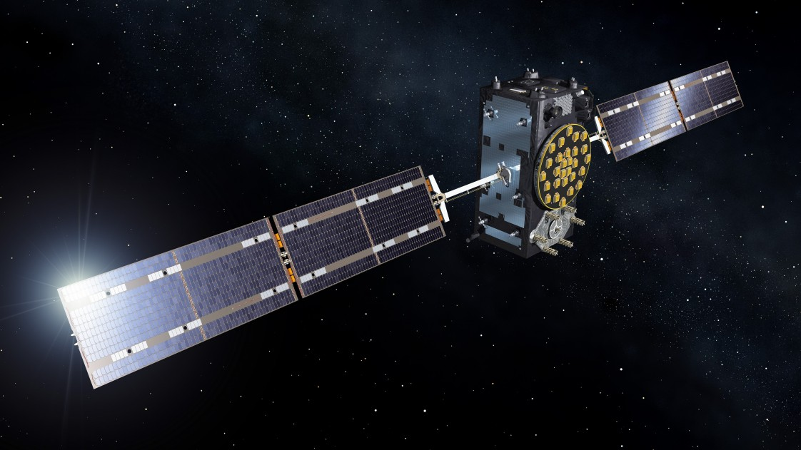 Image of satellite from Galileo project.
