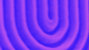 SEM image (viewing angle tilted 30°) of the 'U' shape focused metalens