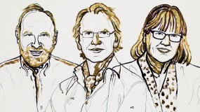 Nobel Physics winners Arthur Ashkin Gérard Mourou in France and Donna Strickland