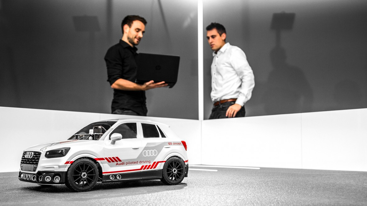 Audis New AI Rig For Driverless Cars Is A Toy Car MIT - Audi driverless car