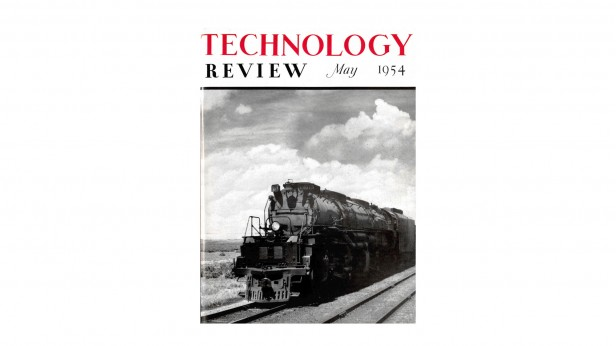 Technology Review 1954 issue