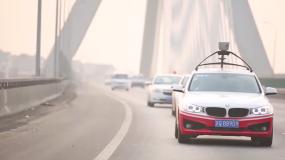 A Baidu autonomous car
