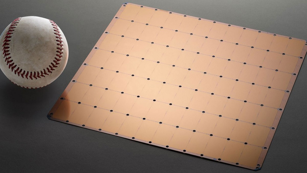The world's biggest chip is bigger than an iPad and will help train AI