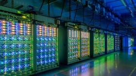 Google St. Ghislain, Belgium data center