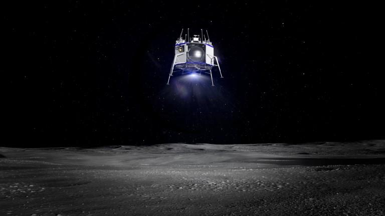 Render of Blue Moon landing