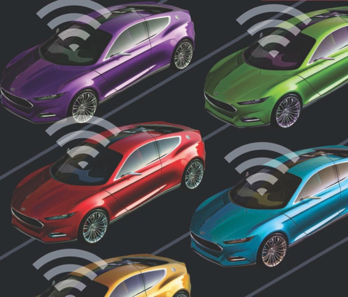 The Connected Vehicle Mit Technology Review