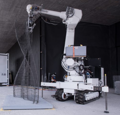 Robotic Fabricator Could Change the Way Buildings Are Constructed