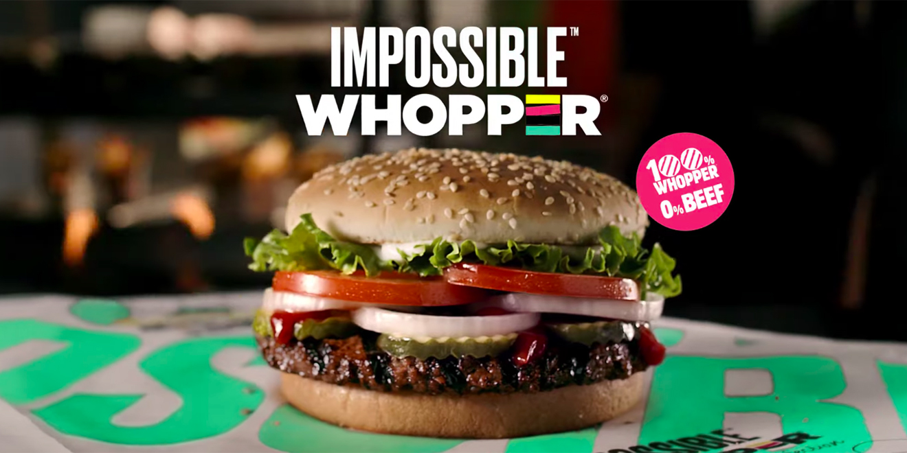 "Burger King is going to start selling the meat-free ""Impossible Whopper"""