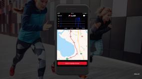 Polar app screenshot