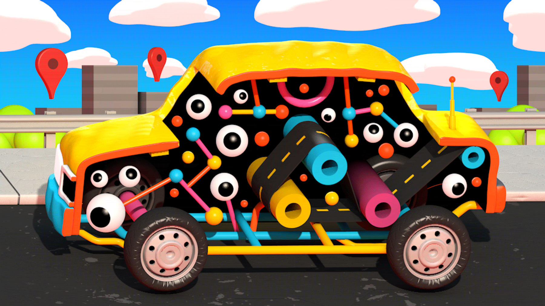Robot Cars Can Learn to Drive without Leaving the Garage ... on drive google start, drive games, drive quotes, wordpress widget world map, drive google drawing,