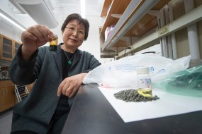 Linda Wang, a chemical engineer at Purdue University