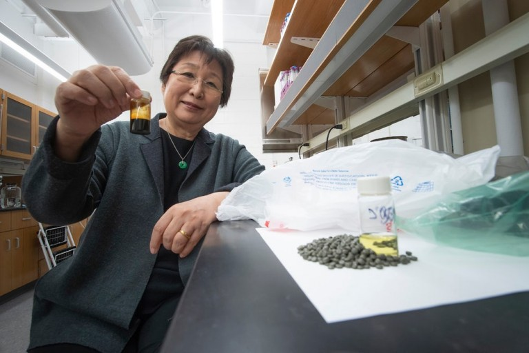 Linda Wang, a chemical engineer at Purdue University