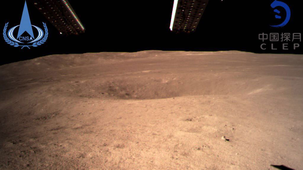 First image from Chang'e 4