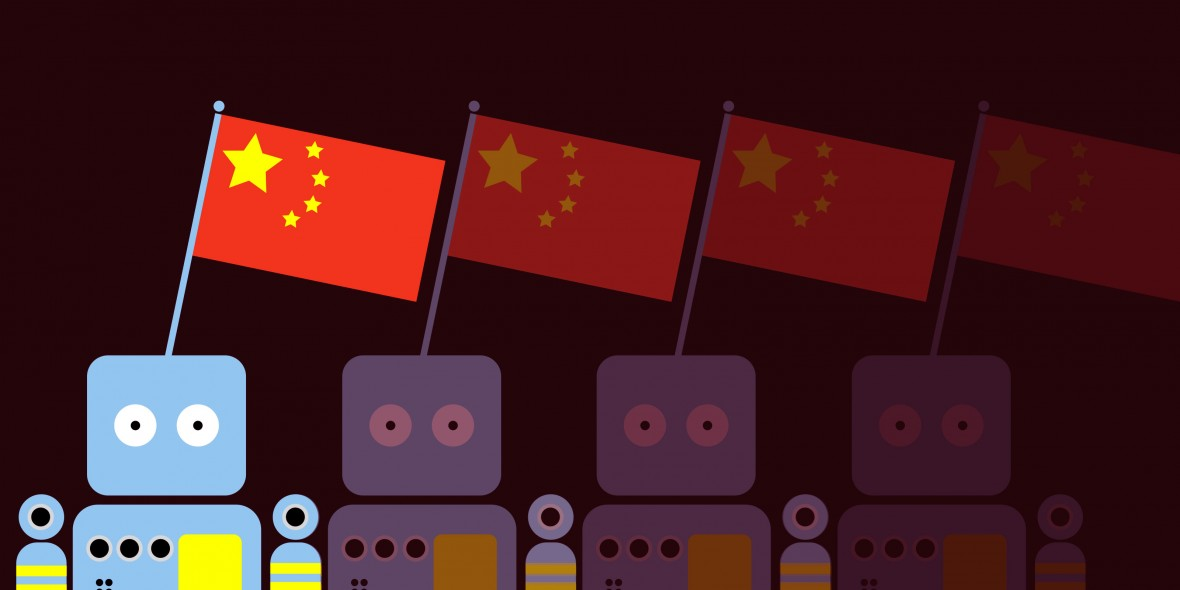 China may overtake the US with the best AI research in just two years