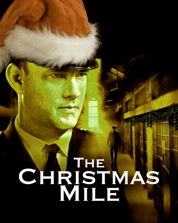 """A spoof of the """"Fight Club"""" movie poster reading """"Fight Christmas"""" and showing Santa holding a bar of soap."""